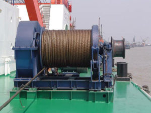 Sinma anchor rope winch with high quality